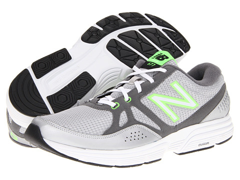 Adidasi New Balance - MX677 - Silver/Green