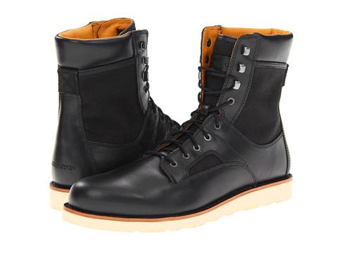 Ghete Timberland - Abington 6-Inch Flat Boot - Black