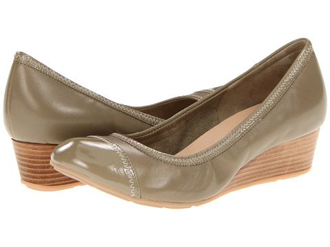 Pantofi Cole Haan - Milly Wedge - Summer Khakis Patent