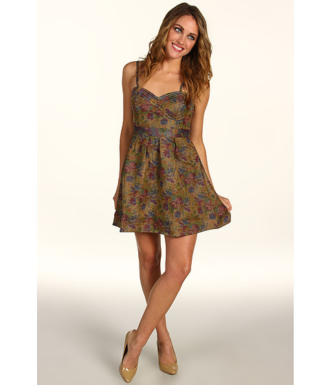 Rochii Free People - Tapestry Dress - Natural Combo