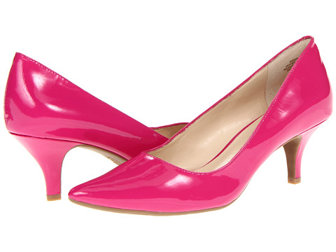 Pantofi Anne Klein - Isana - Orchid/Pink Patent