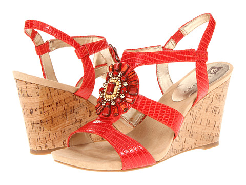 Pantofi Anne Klein - Takis - Red Synthetic