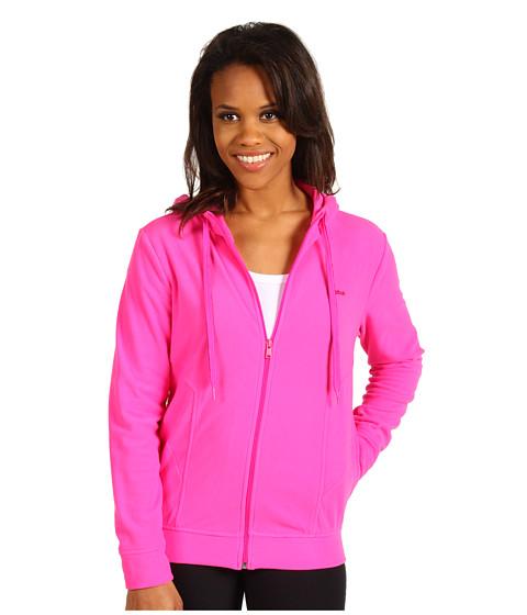 Bluze Reebok - Microfleece Full Zip Jacket - Dynamic Pink F12