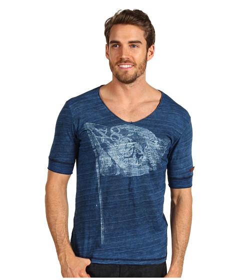Tricouri Diesel - T-Rauni-S T-Shirt - Dark Indigo