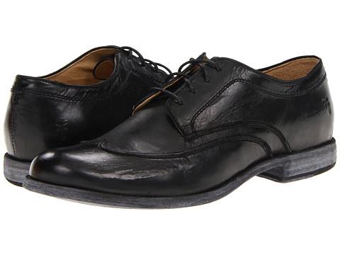 Pantofi Frye - Phillip Wingtip - Black