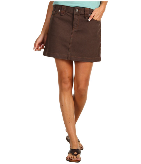 Fuste Patagonia - Denim Skirt - Dark Walnut