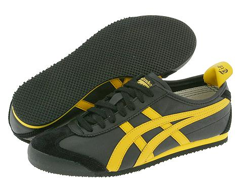 Adidasi Onitsuka Tiger by Asics - Mexico 66® - Black/Yellow