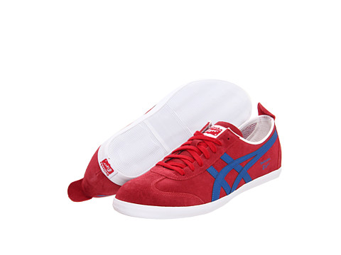 Adidasi Onitsuka Tiger by Asics - Mexico 66® Vulc SU - Red/Blue