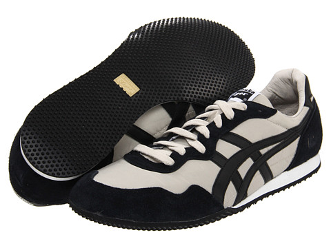 "Adidasi Onitsuka Tiger by Asics - Serranoâ""¢ - Tan/Black"