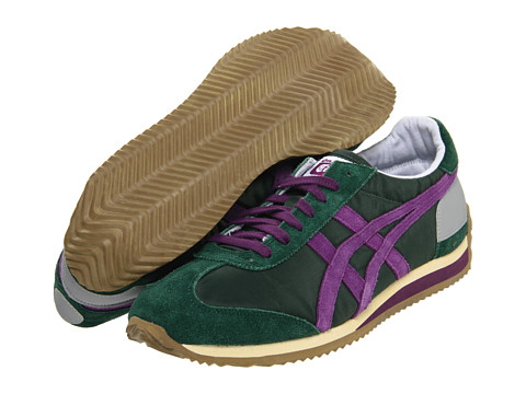 Adidasi Onitsuka Tiger by Asics - California 78® OG VIN - Hunter Green/Purple