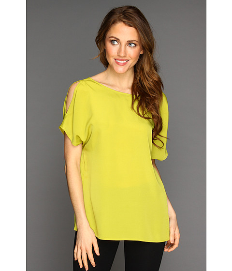 Bluze Anne Klein - Open Shoulder Blouse - Pistachio