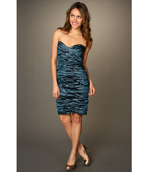 Rochii Nicole Miller - Techno Dress BS0196 - Teal