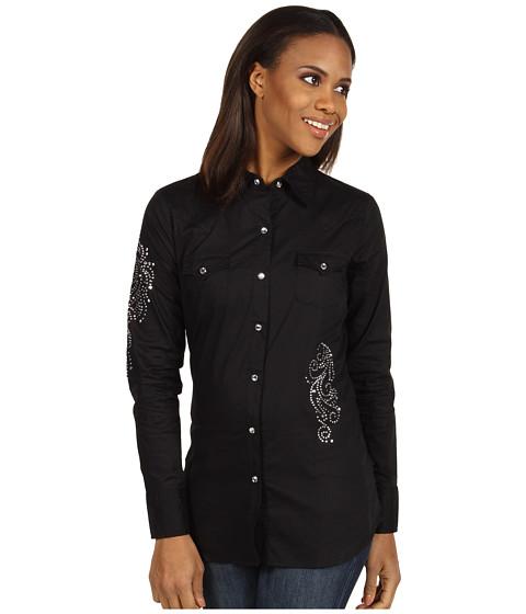 Camasi Roper - Solid Long & Lean Shirt - Black