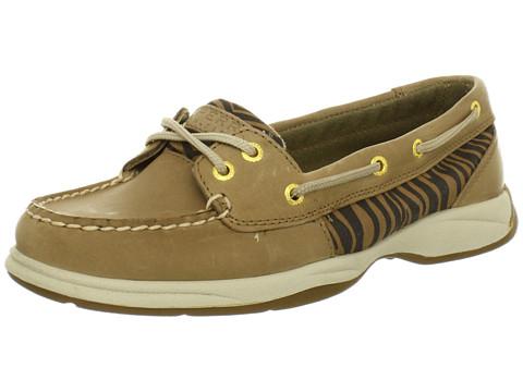 Pantofi Sperry Top-Sider - Laguna - Linen/Dark Brown Zebra