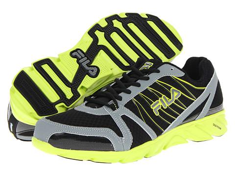 Adidasi Fila - Spear - Black Monumnet/Lime Punch