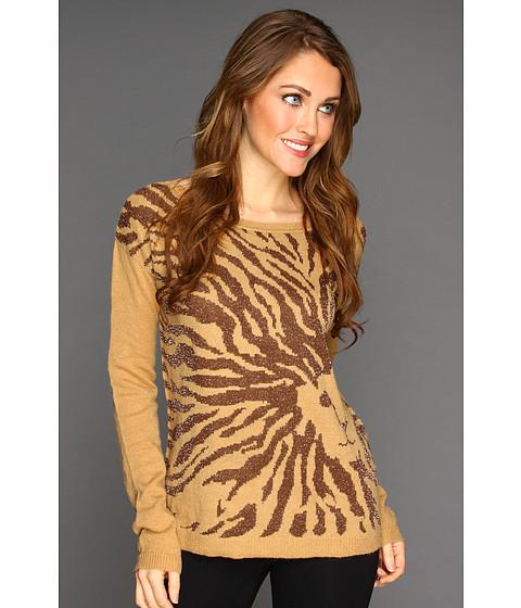 Tricouri Anne Klein - Lion Head Pullover - Brown Sugar Multi
