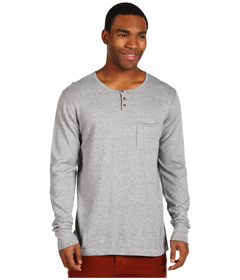 Bluze ONeill - Jack O\Neill Collection Stoked L/S Henley - Heather Grey