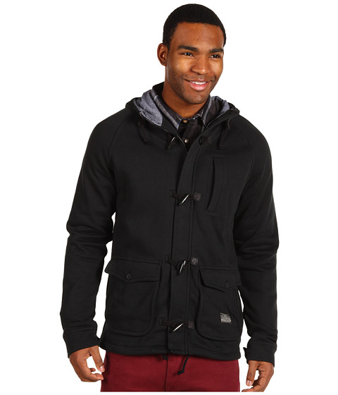 Jachete Vans - Anchorage Fleece Toggle Jacket - Black