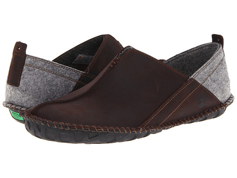 Pantofi Timberland - Earthkeepersî Lounger Slip-On - Dark Brown Oiled