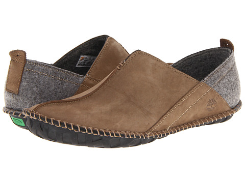 Pantofi Timberland - Earthkeepersî Lounger Slip-On - Taupe Oiled Suede