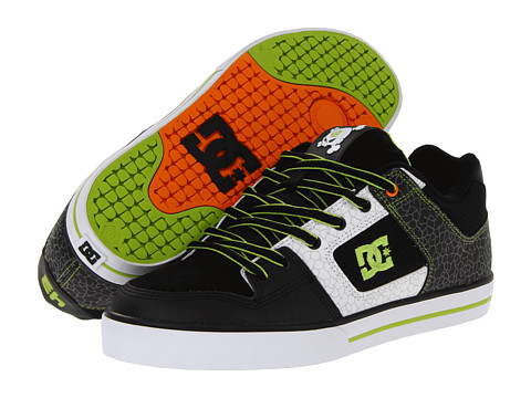 Adidasi DC - KB Pure - Black/Soft Lime/Citrus