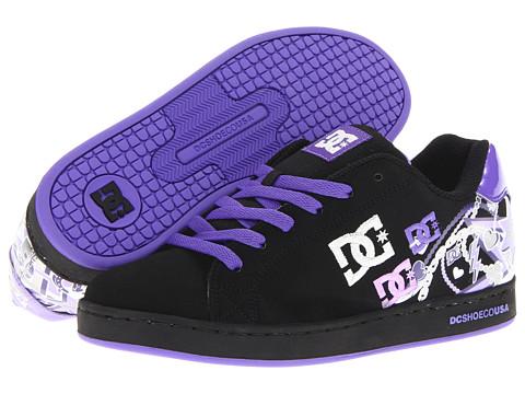 Adidasi DC - Pixie Charm W - Black/Fluorescent Purple