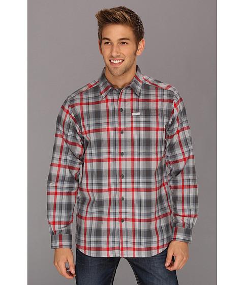 "Camasi Columbia - Pintada Peakâ""¢ L/S Shirt - Mercury Check"
