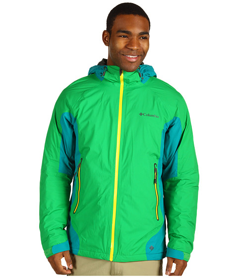 Jachete Columbia - In The Lightâ⢠Jacket - Fuse Green/Emerald/Yellow Curry