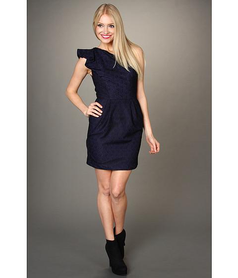 Rochii BCBGeneration - Flounced One-Shoulder Dress - Black