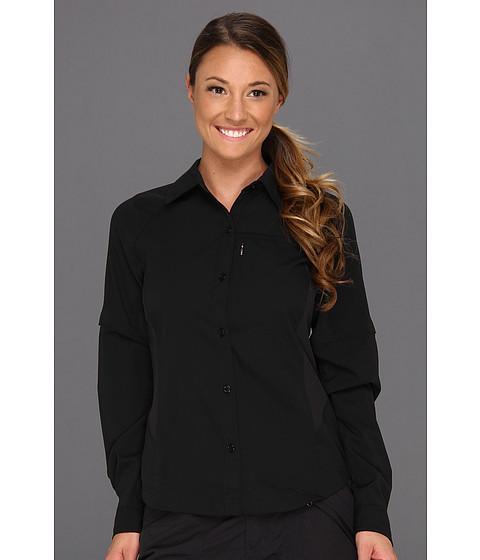 "Camasi Columbia - Silver Ridgeâ""¢ L/S Shirt - Black"