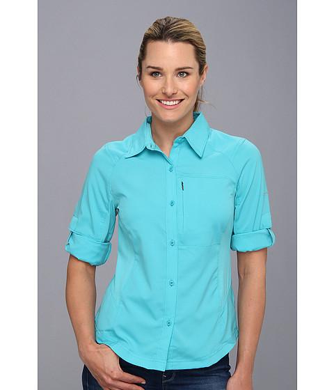 "Camasi Columbia - Silver Ridgeâ""¢ L/S Shirt - Geyser"