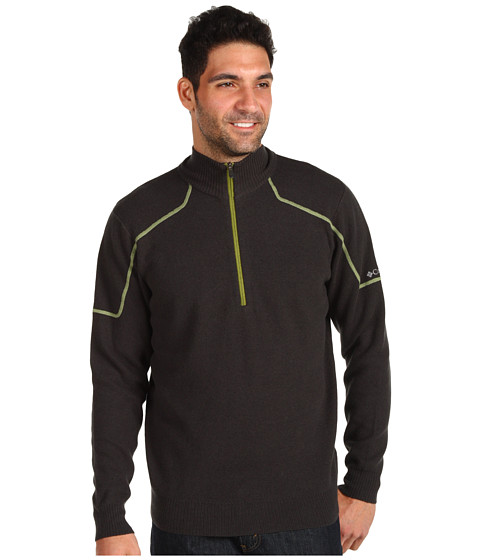 Bluze Columbia - Risco Runâ⢠Half Zip Sweater - Dark Moss/Elm