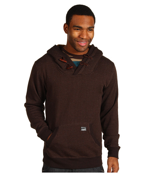 Bluze Billabong - Rasta Hoodie - Dark Brown