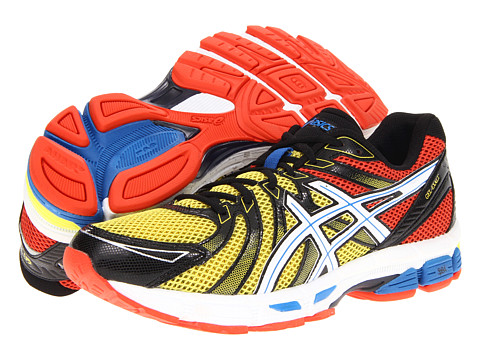 Adidasi ASICS - GEL-Exaltâ⢠- Red/Black/Yellow