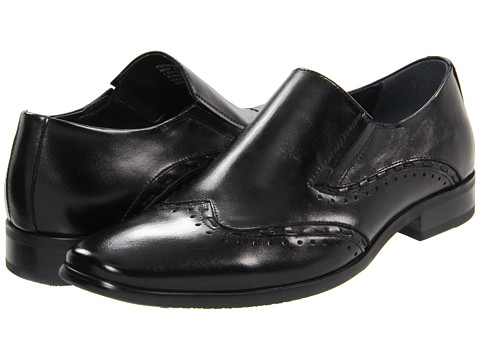 Pantofi Steve Madden - Premire - Black Leather