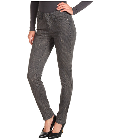 Blugi Calvin Klein Jeans - Railroad Stripe Denim in Eclipse Combo - Eclipse Combo