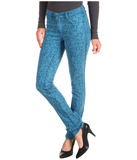 Blugi Calvin Klein Jeans - Reversible Slub Twill Ultimate Skinny in Blue Coral Combo - Blue Coral Combo