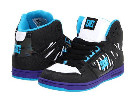 Adidasi DC - Rebound Hi W - Black/Zebra