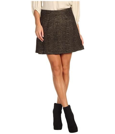 Pantaloni BCBGeneration - Metallic Circle Skirt - Black/Gold