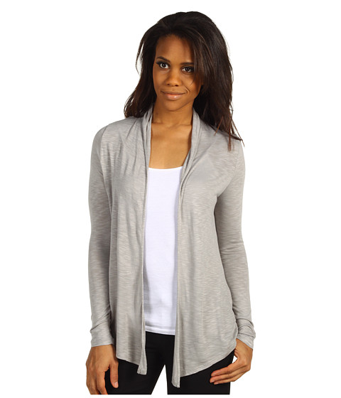 Tricouri Calvin Klein Jeans - Rouched Back Open Knit Cardi - Platinum Ice