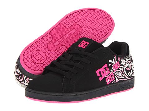 Adidasi DC - Pixie Paisley W - Black/Pink