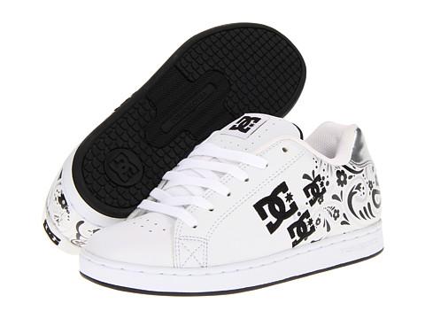 Adidasi DC - Pixie Paisley W - White/Metallic Silver
