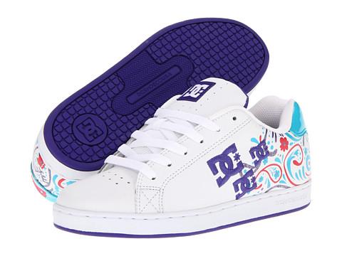 Adidasi DC - Pixie Paisley W - White/Varsity/Purple