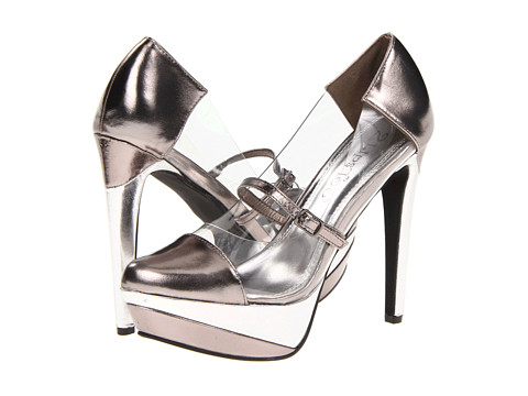 Pantofi 2 Lips Too - Too Bare - Pewter
