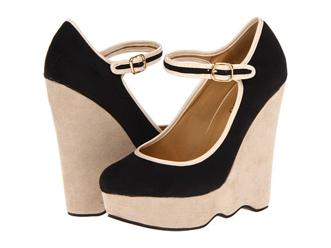 Pantofi 2 Lips Too - Too Sway - Black/Natural