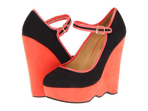 Pantofi 2 Lips Too - Too Sway - Black/Red