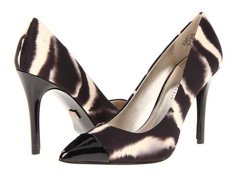 Pantofi Anne Klein New York - Wrenn - Black Multi/Black Fabric