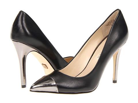 Pantofi Anne Klein New York - Wrenn - Black/Pewter