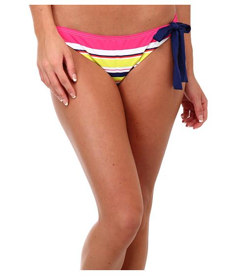 Costume de baie Splendid - Circus Stripe Retro Bottom w/ Ties - Coral