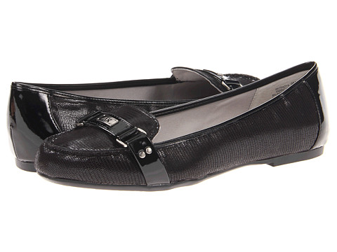 Balerini Anne Klein - 7Sadya - Black Mini Lizard Fabric